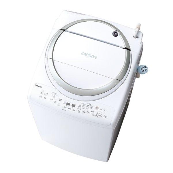 AW-8V6(S) [たて型洗濯乾燥機 (8.0kg) ZABOON(ザブーン) メタリックシルバー]