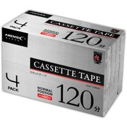 HDAT120N4P [カセットテープ 120分(片面60分) 4本パック]