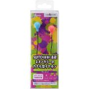 CY-NSNCEP-BR [Nintendo Switch専用 ネオンカラーイヤホン ブルー×レッド]