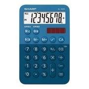 EL-760RAX [ミニミニナイスサイズ電卓 ブルー]