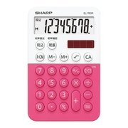 EL-760RPX [ミニミニナイスサイズ電卓 ピンク]