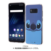 IN-DGS8PH/ST [Galaxy S8+ TPUケース ディズニー スティッチ クローズアップ]