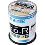 CD-R700EXWP.100CK C [PC/データ用 CD-R 700MB 52倍速対応 インクジェットプリンタ対応 100枚パック]
