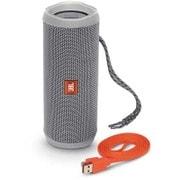 JBL FLIP4 GRY [ウォータープルーフ対応 Bluetoothスピーカー フリップ4 グレー]
