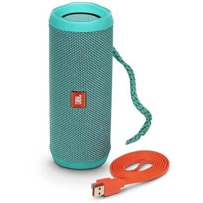 JBL FLIP4 TEL [ウォータープルーフ対応 Bluetoothスピーカー フリップ4 ティール]