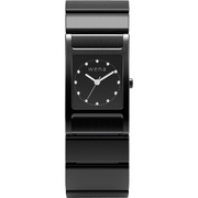 WN-WT11B [wena wrist(ウェナ リスト) Three Hands Square Premium Black]