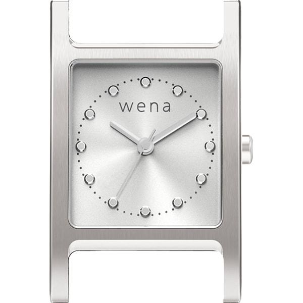 WN-WT11S-H [wena wrist(ウェナ リスト)用ヘッド Three Hands Square Silver]