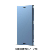 SCSG20JP/L [Xperia XZs プレミアムフリップカバー Style Cover Stand アイスブルー]