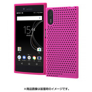 RT-RXZSC16/VP [Xperia XZs/Xperia XZ シリコンケース メッシュ ビビッドピンク]