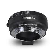 CM-NF-NEX [マウントアダプター レンズ側:ニコンF(Gタイプ対応) ボディ側:ソニーE 絞りリング付き]