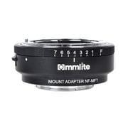 CM-NF-MFT [マウントアダプター レンズ側:ニコンF(Gタイプ対応) ボディ側:マイクロフォーサーズ 絞りリング付き]