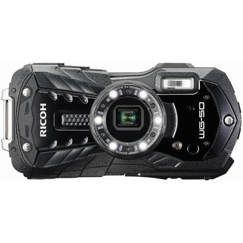 WG-50 ブラック [コンパクトデジタルカメラ]