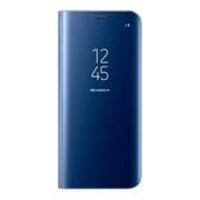 EF-ZG955CLEGJP [Galaxy S8+ Clear Viewカバー ブルー ]