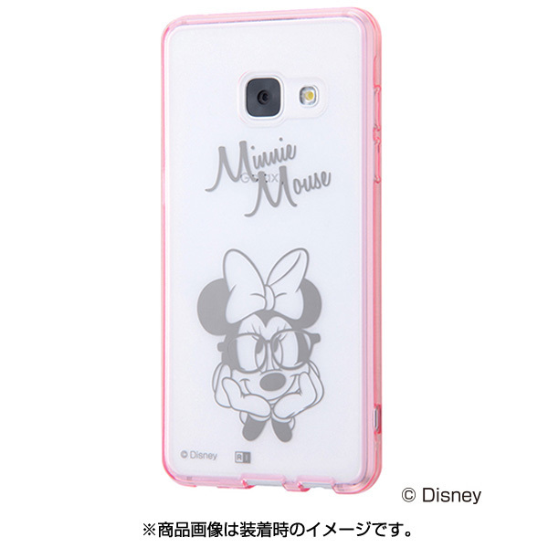 IN-DGAJ4U/MN [Galaxy Feel ディズニーキャラクター ハイブリッドケース ミニーマウス]