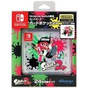 Nintendo Switch専用 カードポケット24 スプラトゥーン2 [約W92×D26×H85mm]
