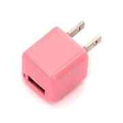 PG-UAC10A04PK [USB電源アダプタ 1ポート 1A ピンク]