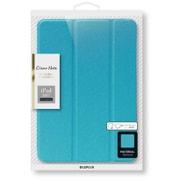 LP-IPP10LCBL [iPad Pro 10.5インチ用 背面クリアフラップケース Clear Note ブルー]
