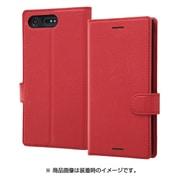 RT-RXZPELC1 R [Xperia XZ Premium 手帳型ケース シンプル マグネット レッド]