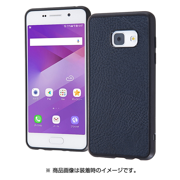 RT-GAJ4LC12 DN [Galaxy Feel SC-04J オープンレザーケース スマート ダークネイビー]