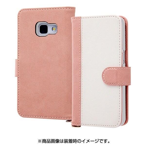RT-GAJ4LBC10 PW [Galaxy Feel SC-04J 手帳型ケース ノーブル ピンク/ホワイト]