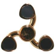 YE-009-14GD [HandSpinner Spiral Gold]