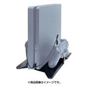 PS4 Slim/PS4 Pro用 縦置きスタンド+コントローラー (充電ケーブル付き)