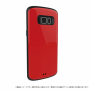 LP-GS8HVCRD [Galaxy S8 耐衝撃ケース 「PALLET」 レッド]