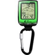 LAD036GR [SENSOR MASTER IV アメリカ製センサー搭載 高度計 気圧計 温度計 天気予測 湿度計 電子コンパス フィールドギア]
