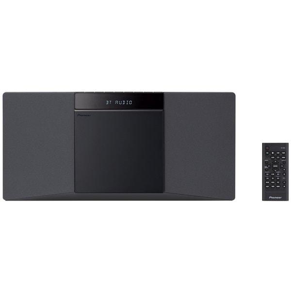 X-SMC02(B) [スタイリッシュCDミニコンポ Bluetooth/ワイドFM対応]
