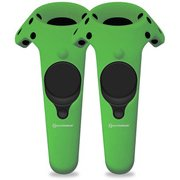 M07201-GN [Gelshell Wand Silicone Skin for HTC VIVE (2pcs/pack)-green]