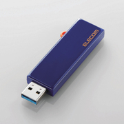 MF-KCU3A64GBU [スライド式USBメモリ USB3.1(Gen1) セキュリティ機能対応 64GB ブルー]