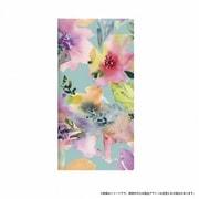 LP-SC04JLD001 [Galaxy Feel SC-04J 薄型デザインPUレザーケース Design+ Flower カラフル]