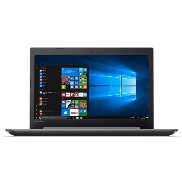 80XL00MMJP [ideapad 320/Windows 10 Home 64bit/Core i7-7500U/メモリ 4GB/HDD 1TB/DVD スーパーマルチ ドライブ/15.6型 HD/Microsoft Office Home & Business Premium プラス Office 365 サービス/プラチナシルバー]