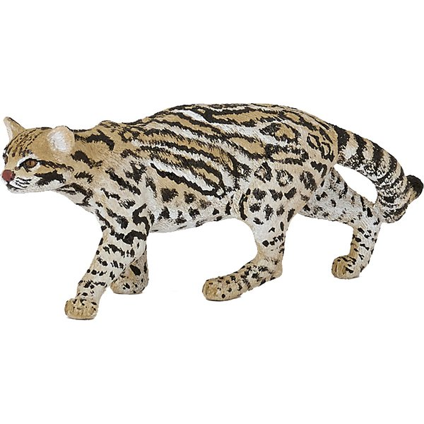 ヨドバシ com papo パポ 50224 wild animals オセロット 動物系