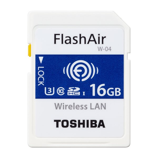 SD-UWA016G [FlashAir SDHCカード 16GB SD-UWAシリーズ(W-04)]