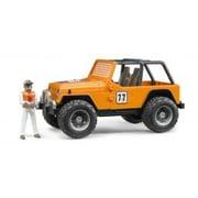 BR02542 [Jeep クロスカントリーレーサー フィギュア付き ORANGE]