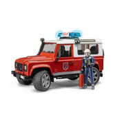 BR02596 [Land Rover Def.ワゴン消防カスタム フィギュア付き]