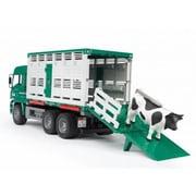 BR02749 [MAN 牛運搬トラック&牛セット]