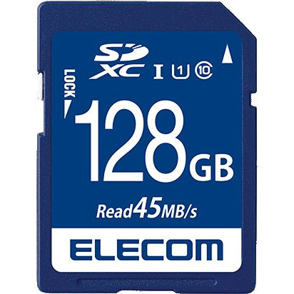 MF-FS128GU11R [SDXCカード データ復旧サービス付 UHS-I U1 45MB/s 128GB]