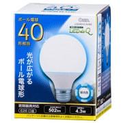 LDG4D-G [AH92 LED電球G形 E26 40形 昼光色]