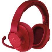 G433RD [Wired 7.1 Surround Gaming Headset(有線 7.1サラウンド ゲーミングヘッドセット) レッド]