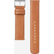 WC-20E0N/T [腕時計用レザーバンド wena wrist leather 対応ラグ幅20mm タウニーブラウン]