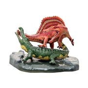 FDW-284 [恐竜 スピノサウルスvsサルコスクス ミニモデル]