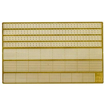 日本海軍艦艇用 手摺 艦橋窓枠セット [1/700 艦船用エッチングパーツ]
