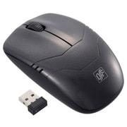 PC-SMWBM33-K [ワイヤレスマウス BLUE LED Mサイズ ブラック]