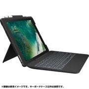 iK1092BKA [iPad Pro 10.5インチ 2017年モデル対応 SLIM COMBO iK1092 Smart Connector テクノロジー搭載 取り外し可能バックライトキーボード付きケース ブラック]