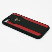 LB-TPUPCIP7-HU/D8-RD [Lamborghini iPhone 7 本革ケース]