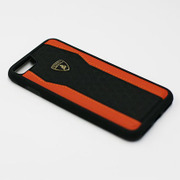 LB-TPUPCIP7-HU/D8-OE [Lamborghini iPhone 7 本革ケース]