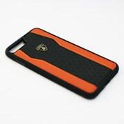 LB-TPUPCIP7P-HU/D8-OE [Lamborghini iPhone 7 Plus 本革ケース]