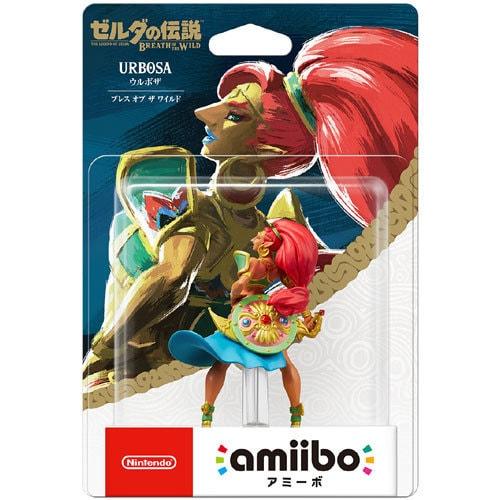 amiibo(アミーボ) ウルボザ<ブレス・オブ・ザ・ワイルド> (ゼルダの伝説シリーズ) [ゲーム連動キャラクターフィギュア]